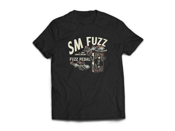 Black SM Fuzz T-shirt
