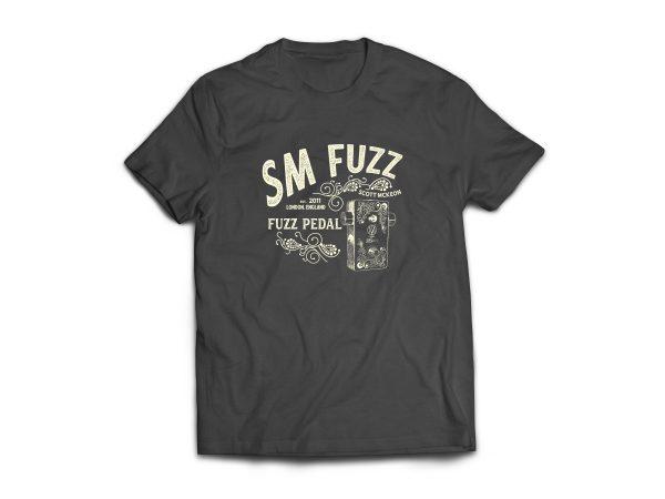 Grey SM-Fuzz T-Shirt