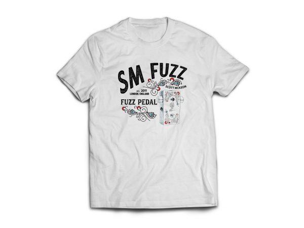 White SM-Fuzz T-Shirt